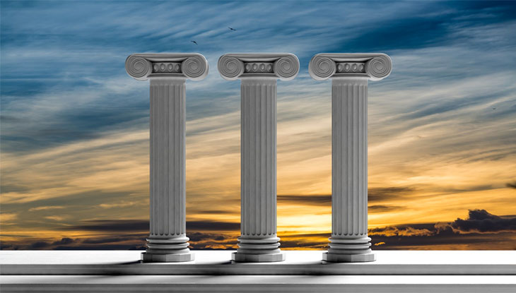 Image result for 3 pillars